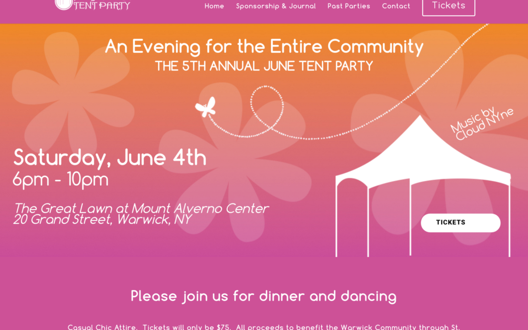The June Tent Party