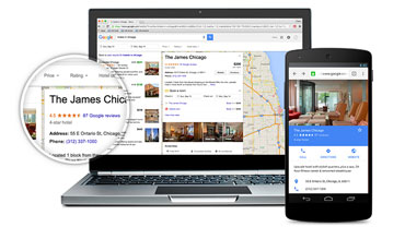 Virtual Tour and Hotel Searches On Google