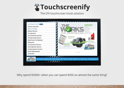 Touchscreenify