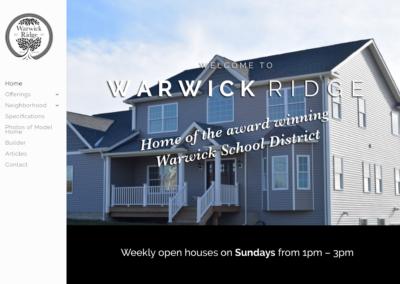 Warwick Ridge